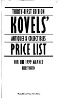 The Kovel's Antiques & Collectibles Price List