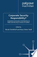 Corporate Security Responsibility