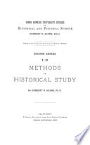 Methods of Historical Study