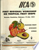 First regional workshop on tropical fruit crops