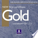 NEW First Certificate Gold. 3 Audio CDs