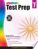 Spectrum Test Prep Grade 7