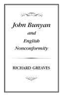 Pdf John Bunyan and English Nonconformity