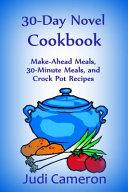 30 Day Novel Cookbook