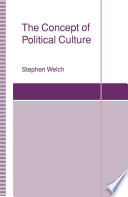 The Concept of Political Culture