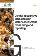 Gender responsive indicators for water assessment  monitoring and reporting