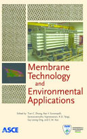 Membrane Technology and Environmental Applications