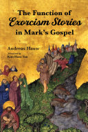 The Function of Exorcism Stories in Mark's Gospel Pdf/ePub eBook