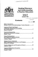 Teacher Education Quarterly