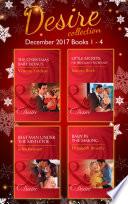 Desire Collection  December Books 1     4  The Christmas Baby Bonus   Little Secrets  His Pregnant Secretary   Best Man Under the Mistletoe   Baby in the Making