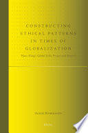 Constructing Ethical Patterns in Times of Globalization Book