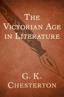 The Victorian Age in Literature Pdf