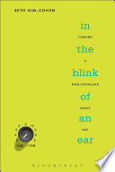 In the Blink of an Ear Book