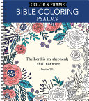 Color and Frame   Bible Coloring  Psalms
