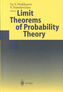 Limit Theorems of Probability Theory