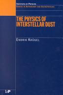 The Physics of Interstellar Dust