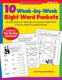 10 Week By Week Sight Word Packets
