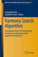 Harmony Search Algorithm [Pdf/ePub] eBook