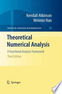 Theoretical Numerical Analysis Book PDF