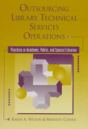 Outsourcing Library Technical Services Operations Book PDF