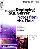 Deploying Microsoft SQL Server 7 0 Book