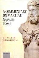 A Commentary on Martial, Epigrams