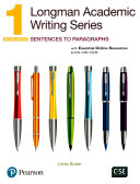 Cover of Longman Academic Writing Series 1 Sb with Online Resources