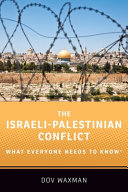 link to The Israeli-Palestinian conflict : what everyone needs to know in the TCC library catalog