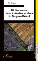 Pdf Dictionnaire des cinéastes arabes du Moyen-Orient Telecharger
