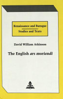 The English Ars Moriendi
