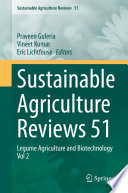 Sustainable Agriculture Reviews 51
