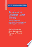 Cover of Advances in Dynamic Game Theory