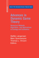 Pdf Advances in Dynamic Game Theory