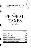 Prentice Hall Federal Taxes