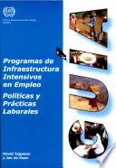 Programas de infraestructura intensivos en empleo