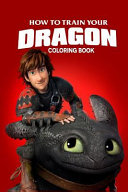 How to Train Your Dragon Coloring Book