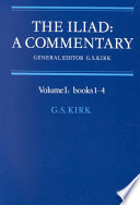 The Iliad, a Commentary  , Volume 1