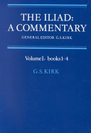 The Iliad, a Commentary