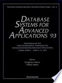 Database Systems for Advanced Applications '93