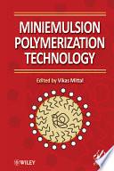 Miniemulsion Polymerization Technology Book PDF