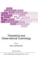 Theoretical and Observational Cosmology