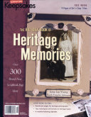 Creating Keepsakes the Big Idea Book of Heritage Memories