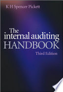 The Internal Auditing Handbook Book PDF
