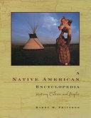A Native American Encyclopedia Book