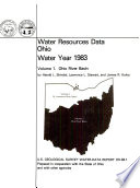 Water Resources Data Book