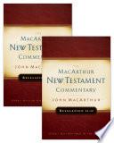 Revelation 1 22 Macarthur New Testament Commentary Two Volume Set