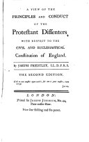 A View of the Principles and Conduct of the Protestant Dissenters
