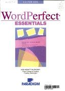 Wordperfect Essentials