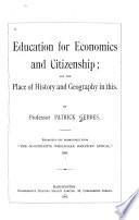 Education for Economics and Citizenship