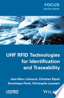 UHF RFID Technologies for Identification and Traceability Book